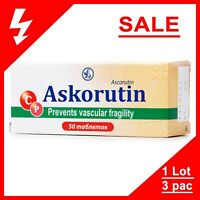 Askorutin Ascorutin Аскорутин Increase Immunity Restore Deficiency of Vitamin C