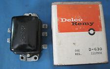 NOS voltage regulator Delco Remy 1962 Chevrolet with AC and Alternator