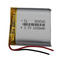 3.7V 1400 mAh Polymer Li Battery Lipo For PDA Camera Tablet PC DVD GPS 804040