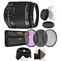Canon EF-S 18-55mm f/3.5-5.6 IS II Lens and Accessory for Canon T6i T6