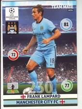 PANINI FOOT TRADING CARD CHAMPIONS LEAGUE FRANK LAMPARD MANCHESTER CITY FC