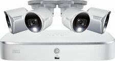 Lorex - 8-Channel, 4-Camera Indoor/Outdoor Wired 4K Uhd 2Tb Dvr Surveillance .