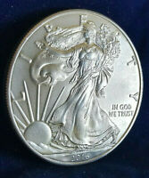 "2016 $1 Coin American Eagle Silver Dollar .999!!! 1 oz. ""Brilliant Uncirculated"""
