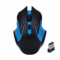 Gaming Mouse 2.4GHz Wireless Optical Gaming Mouse Mice Computer PC Laptop USB