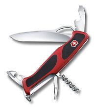 NEW VICTORINOX SWISS ARMY KNIFE RANGERGRIP 61 RED/BLACK BOX # 0.9553.MCUS2