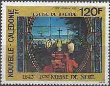 Timbre Religion Noel Nouvelle Calédonie PA309 ** année 1993 lot 9758
