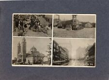 Real Photo Postcard RPPC: multiple image card - Seattle, Washington