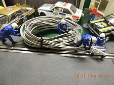 SLOT CAR TRACK POWER BOOST CABLEx2 SPORT OR CLASSIC 6Metres(C8248)NON SCALEXTRIC