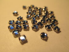 36 Swarovski Crystal Sapphire  Rose Montees 10SS   2.8 mm  SM2