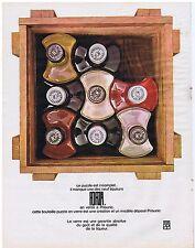 PUBLICITE ADVERTISING 054 1965 FORZA 9 liqueurs en vente chez Prisunic