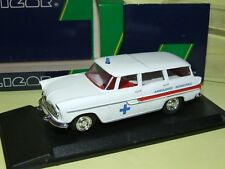 SIMCA BREAK MARLY AMBULANCE MUNICIPALE 1960 ELIGOR 1:43