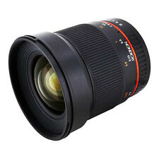 Rokinon (Samyang) 16MAF-N 16mm f/2 CS AS UMC ED Lens For Nikon