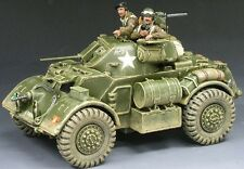 King & Country D Day 1944 Dd060 British Staghound Armored Car Set Mib