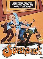 Superchick (DVD, 2002) Joyce Jillson Ed Forsyth John Carradine 1973