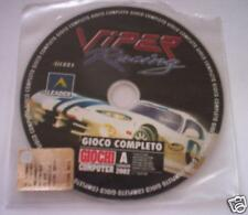 Viper racing gioco pc corse originale completo game