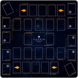 Yu-Gi-Oh! Spielmatte 2-Spieler - Parvis Elite Duel Playmat (Modern/Link)
