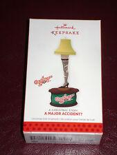 Nib Hallmark Ornament 2013 A Christmas Story A Major Accident Leg Lamp Series