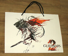 Guild Wars 2 / WildStar promo Tasche Tragetasche / Carrying Bag Gamescom 37x50cm