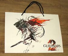 Guild Wars 2 / WildStar promo Tasche Tragetasche / Carrying Bag Gamescom 37x50cm