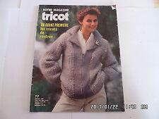 VOTRE MAGAZINE TRICOT N°200 JUILLET 1980 TRICOTS DE RENTREE     K20