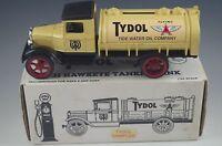 ERTL 1931 HAWKEYE OIL TANKER TYDOL COIN BANK DIE CAST 1/34 SCALE MIB
