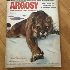2 issues: Argosy Men's Magazines (as in hunting/fishing) fiction, humor 1955-56