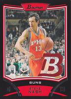 2008-09 Bowman Relics #BRSN Steve Nash Jersey