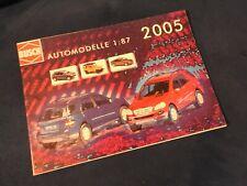 catalogue busch automodelle 2005 miniatures ho 1/87