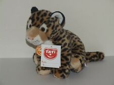 TRUDI Tatì Peluche LEOPARDO CUCCIOLO Seduto 20cm, Leopard Plush Toy, Peluches