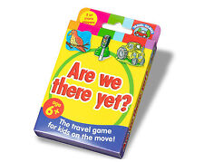 New Paul Lamond Travel Card Game Are We There Yet?