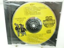 MUSIC MAESTRO KARAOKE 6304 Country  Hits of Today  Vol 5  CD+G NEW