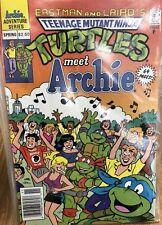 Teenage Mutant Ninja Turtles Meet Archie TMNT Dan DeCarlo Peter Laird Simpson VF