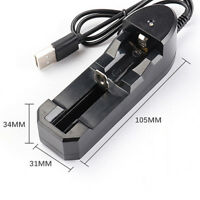 3.7V Universal Rechargeable Charger For 16340 Battery 18650 14500 Li-ion 10440