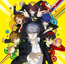 Persona 4 The Golden Original Soundtrack Japan Game Music Japan CD NEW