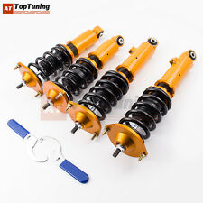 Racing Adj.Coilover for Mazd Miata Roadster MX-5 MX5 Convertible 2D 89-05 Shocks