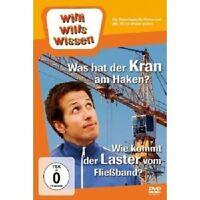"""WILLI WILLS WISSEN """"WAS HAT DER KRAN AM HAKEN?/LASTKRAFTWAGEN""""  DVD NEU"""
