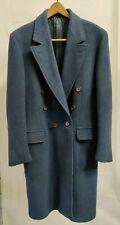 Tiger of Sweden  Wool  Blue Gray 100% Wool Coat