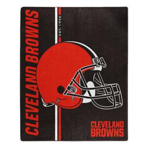 """Cleveland Browns 50"""" x 60"""" Raschel Blanket Northwest Est 1946"""