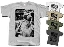 DYSTOPIA Aftermath T shirt white gray military beige cotton all sizes S - 5XL