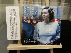 Kate Rusby & Paul Weller - Sun Grazers   (RARE UK PROMO CD SINGLE)