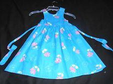 Girls size 4 heart & flowers  spring  summer dress