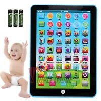 1-8 Years Old Baby Early Learning Tablet Educational Toys Toddler Learn English