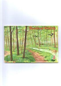 WOODLAND WILDLIFE FULL BROOKE BOND ALBUM ISSUED 1974 VG NEATLY STUCK IN