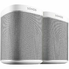 Sonos Play 1 Compact Wireless Hi-fi Music Streaming Speaker System White