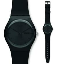Swatch New Gent Black Rebel SUOB702 Analogue Silicon Black