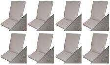Wodoodporne poduszki na krzesła - kolor piaskowy 8 szt. - NAJLEPSZA JAKOŚĆ