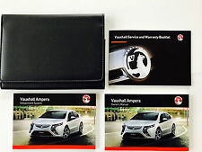 VAUXHALL AMPERA OWNERS MANUAL HANDBOOK PACK + NEW BLANK SERVICE BOOK