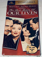 The Best Years of Our Lives (Vhs, 1996) Myrna Loy Fredric March 44B