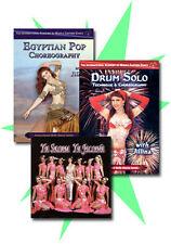 Jillina Belly Dance DVD / CD Set - How to Belly Dance DVDs plus CD