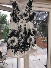 DEBUT @ DEBENHAMS sz 20 stunning netted prom occasion dress worn twic